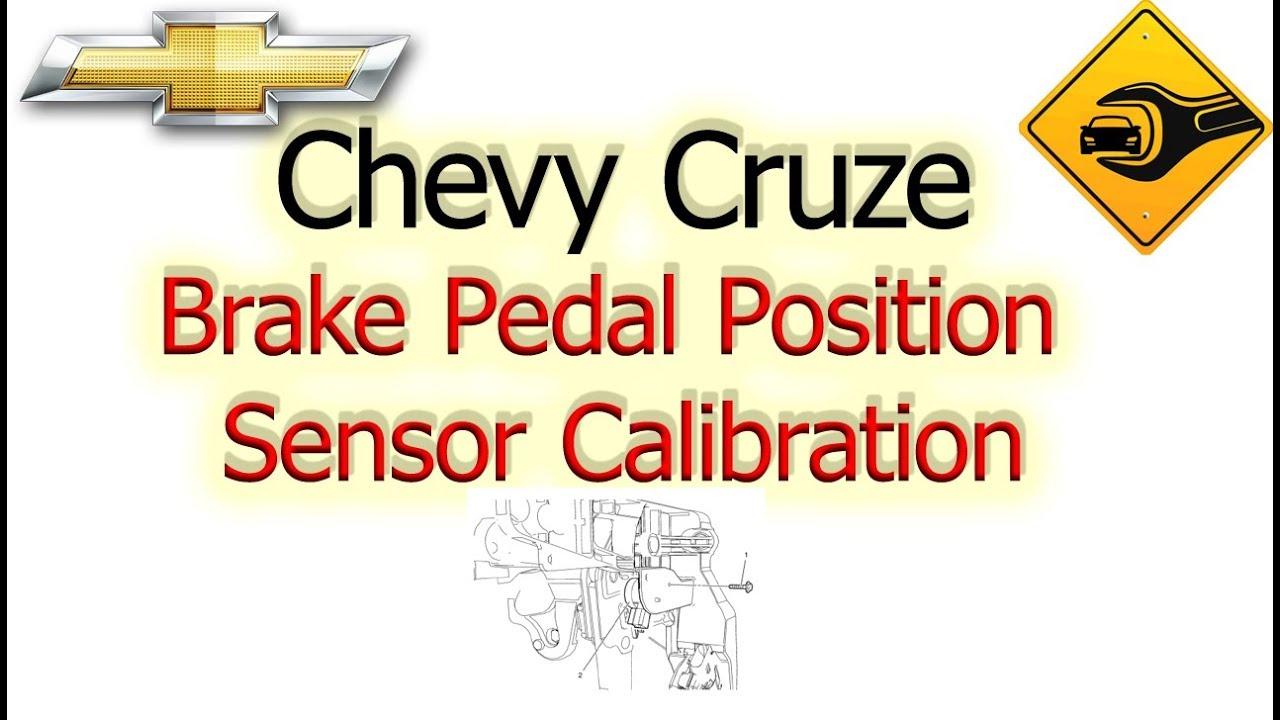 Chevrolet Sonic Repair Manual: Brake Pedal Position Sensor Calibration
