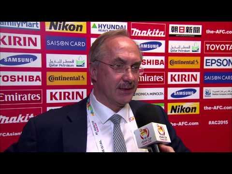 Interview: FINAL - Ulrich Stielike (Korea Republic Coach)