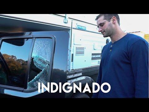 QUEBRARAM O VIDRO DO NOSSO CARRO | PORTUGAL | Romulo e Mirella | T4. EP.60