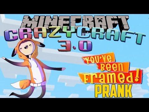 You've Been Framed Prank - Worst Prank Ever - Crazy Craft 3.0 - EP 40