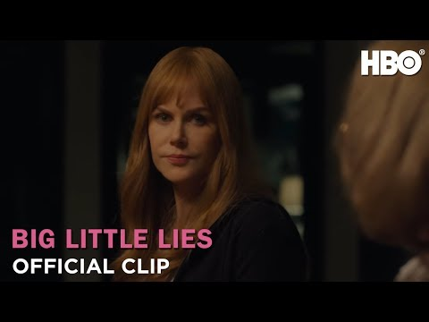 Ginger - Meryl Streep a real scream in her debut on Big Little Lies