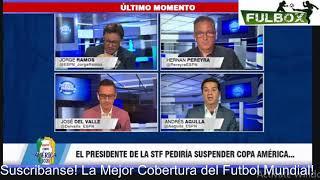 ¡BOMBAZO! Copa América en Brasil sería CANCELADA se Decide por JUEZ en Sesión Extraordinaria