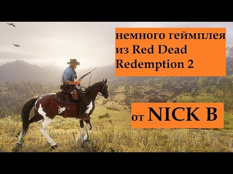 Red Dead Redemption 2 Gameplay (PS 4) thumbnail