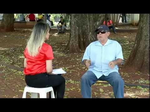 Idoso alega estar perdendo a visão após cirurgia na Caravana da Saúde