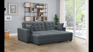 BroyerK Augusta Sectional Sleeper Sofa