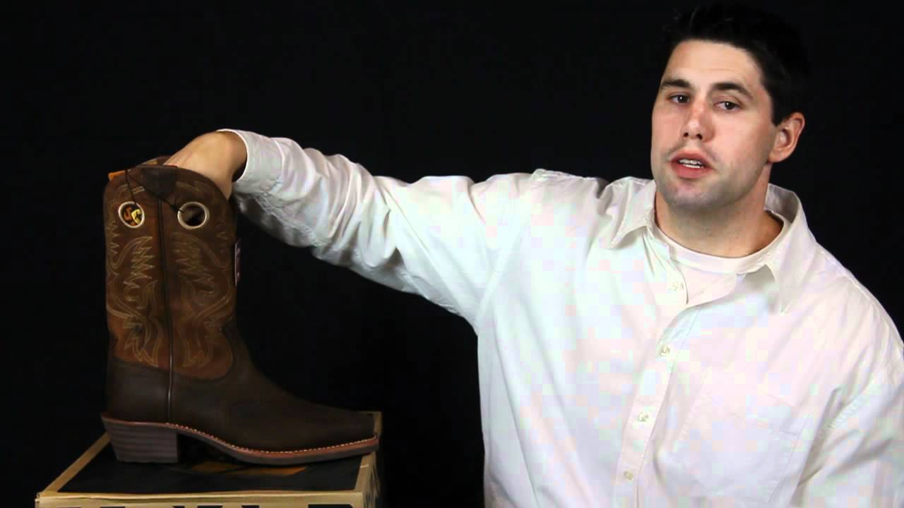 a4d15af9dc6 Ariat Heritage Roughstock Square Toe Boot