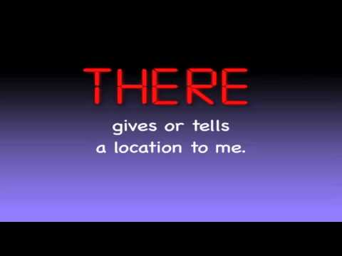 Their There They're - Homophones Song - Educational Music Video