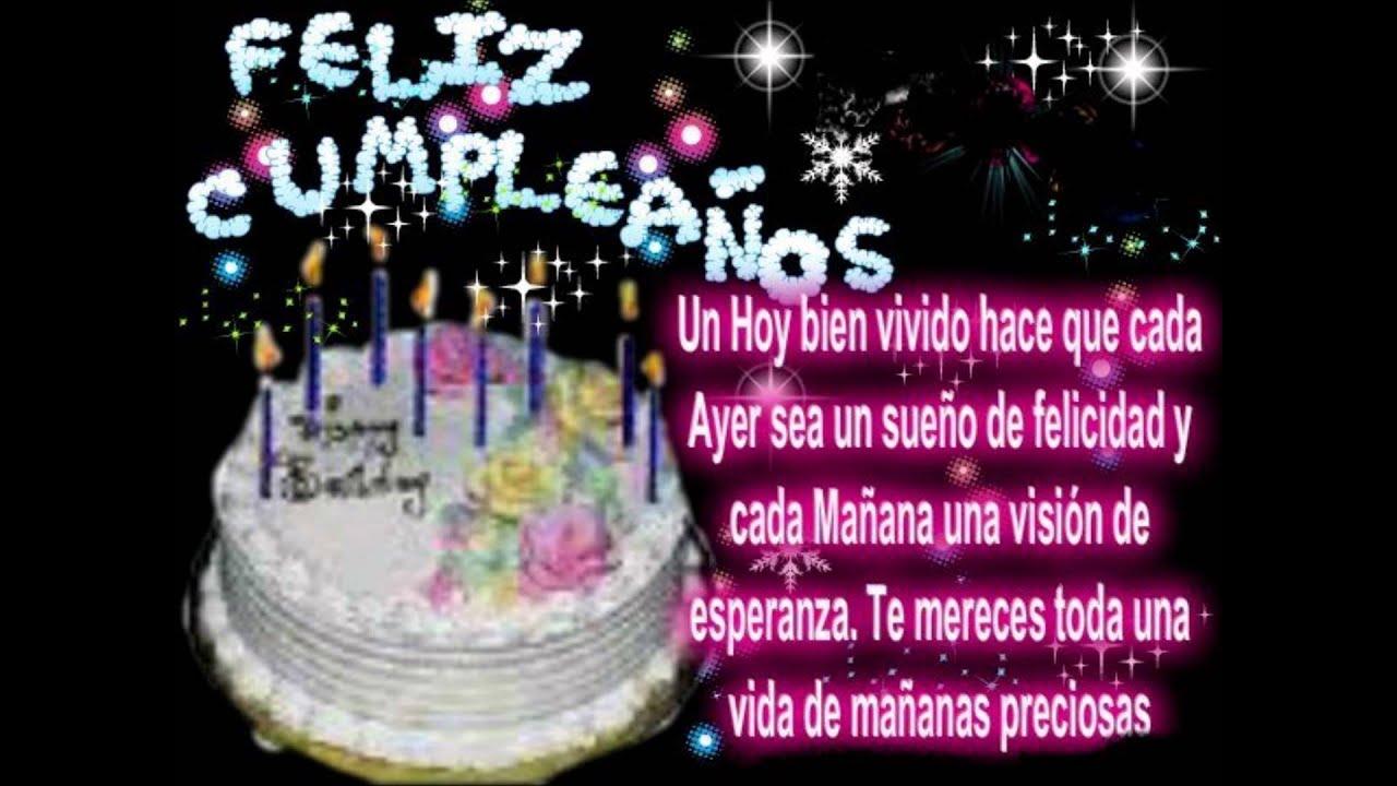 Feliz Aniversário Para Tia: FELIZ CUMPLE TIA AMPARO ENRIQUEZ