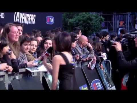The Avengers Italian Premiere Red Carpet (Los Vengadores)