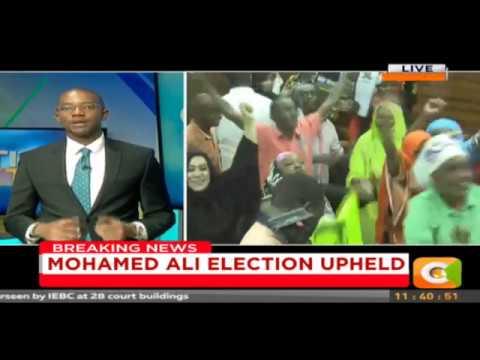 Citizen Extra:Mohamed Ali Election Upheld
