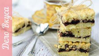 Тертый пирог с вареньем / Десерты / Рецепт от Дело Вкуса