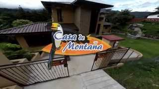 Casa De Montaña Bed & Breakfast In Boquete, Panama (2nd Video)