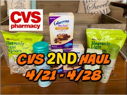 CVS 2ND HAUL VIDEO (4/21 - 4/28) | UNADVERTISED DEAL & HOT FACIAL CARE SCENARIO!