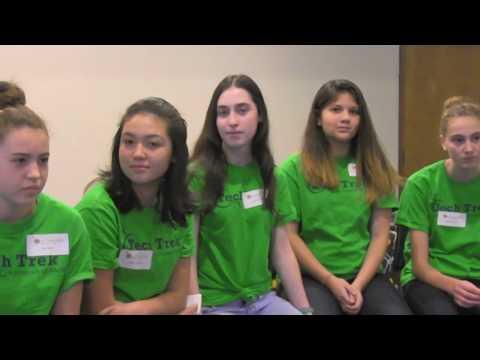 AAUW Tech Trek Girls 2017
