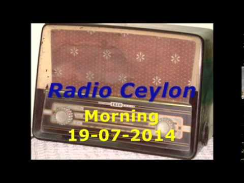 Radio Ceylon 19-07-2014~Saturday...