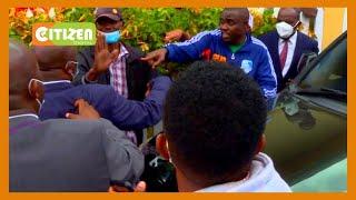 The dramatic arrest of Kakamega senator Cleophas Malala from his  Kitengela home