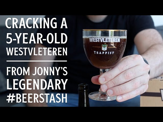 Westvleteren XII tasted at five years old! | The Craft Beer Channel