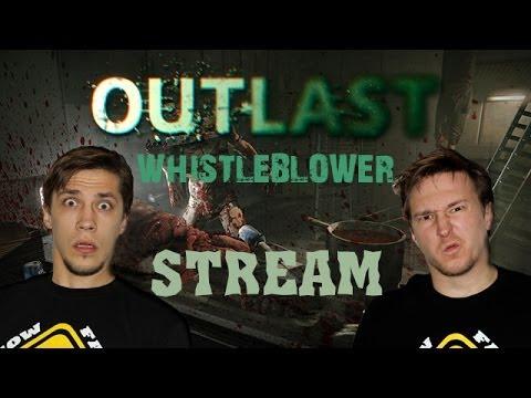 Outlast: Whistleblower прохождение с Карном. #1 - Осведомитель