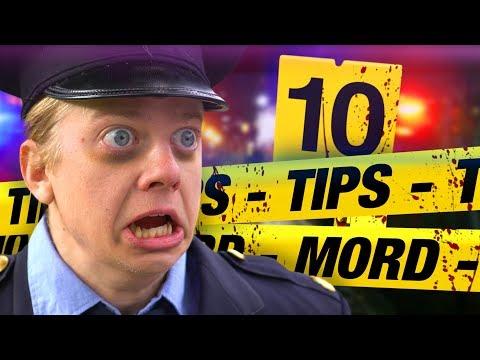 10 TIPS PÅ HUR DU KOMMER UNDAN MED MORD