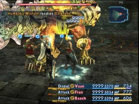 Final Fantasy XII - Secret Boss: Humbaba Mistant - YouTube