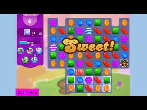 Candy Crush Saga Level 2474 12 moves NO BOOSTERS