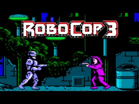 Robocop: прохождение Robocop 3 (NES, Famicom, Dendy)