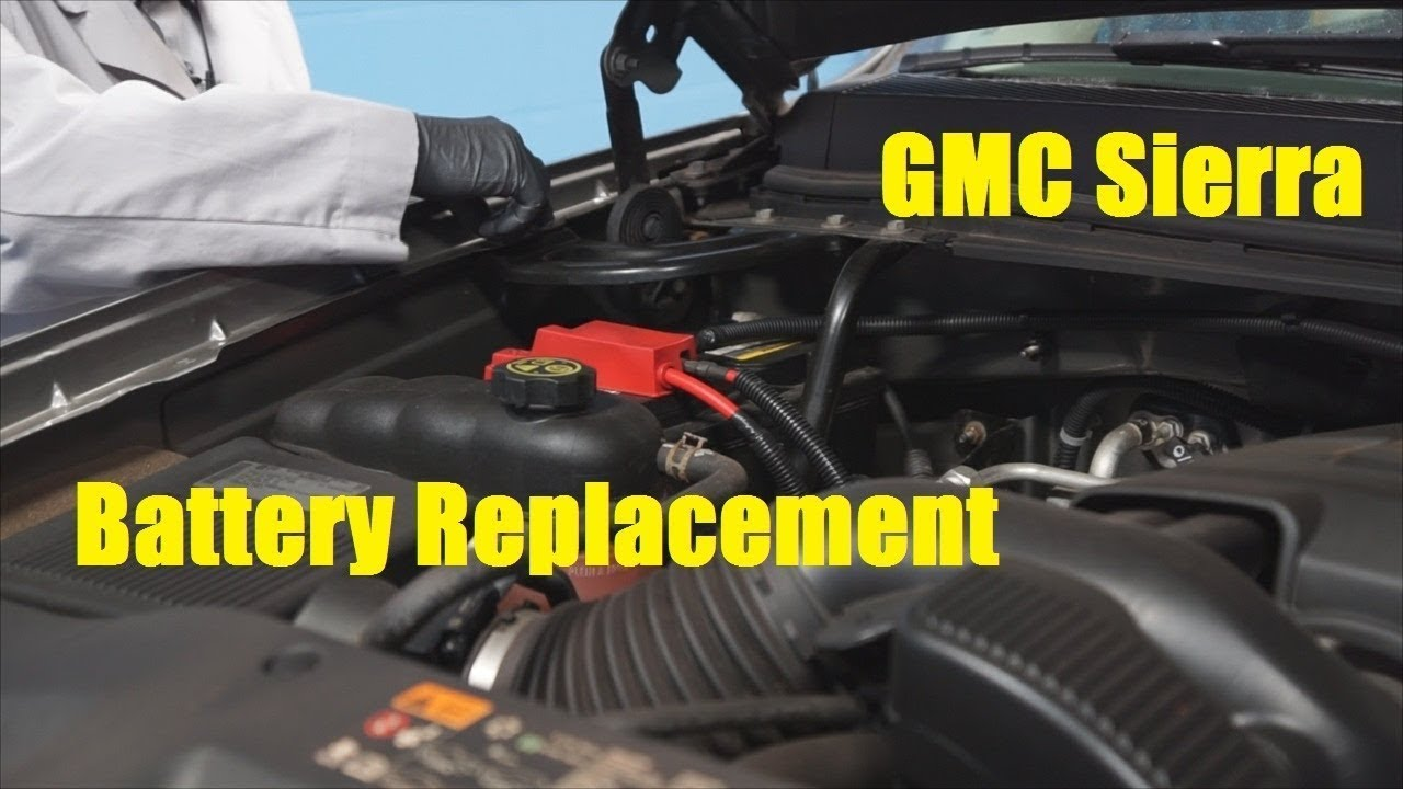 Gmc Sierra Battery Replacement The Battery Shop Youtube