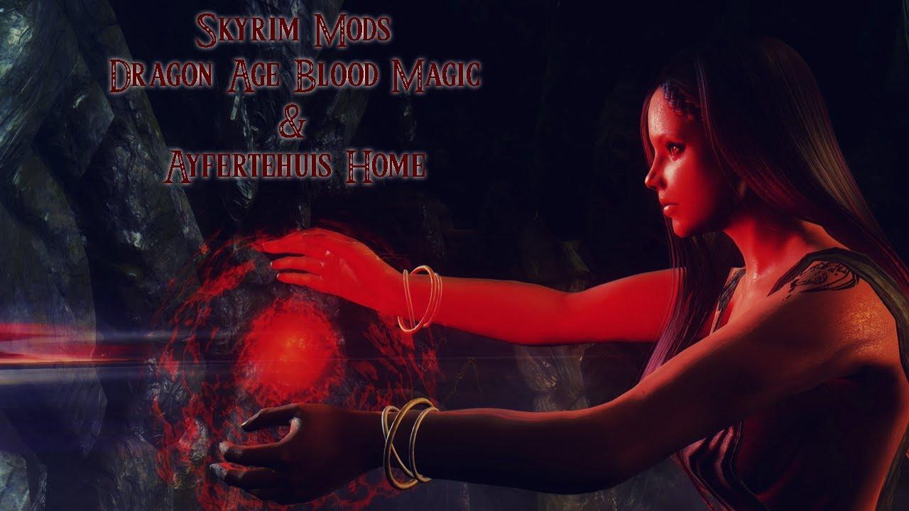 weekly skyrim mods dragon age origins blood magic