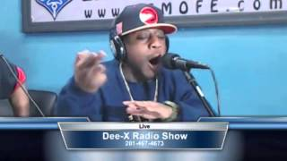 """Mr.Zip Em Up"" K-Shine Freestyles for Dee-X Rated Radio!"