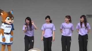 2015年6月21日 スマイルキャラバン最後の挨拶 ポリー→はまゆ→あやぱん→...