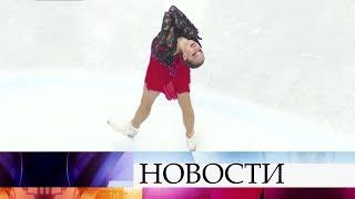 Российская фигуристка Алина Загитова завоевала золото чемпионата мира