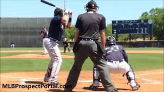 Austin Riley - Atlanta Braves prospect 3B - Full RAW Video