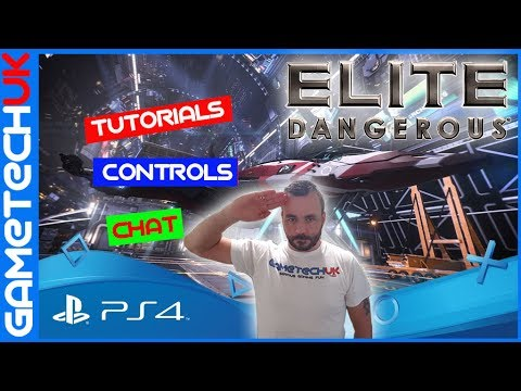 Elite Dangerous PS4 - Pre release game chat/Tutorials/looking at the controls - PS4 Standard