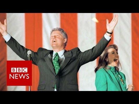 Bill & Hillary Clinton - a (political) love story - BBC News