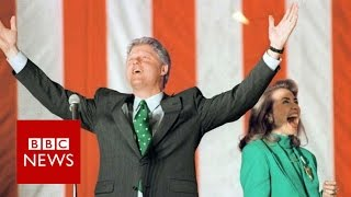 Bill & Hillary Clinton - a (political) love story - BBC News