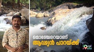 Local Rute at Adyanpara Waterfalls   Mathrubhumi