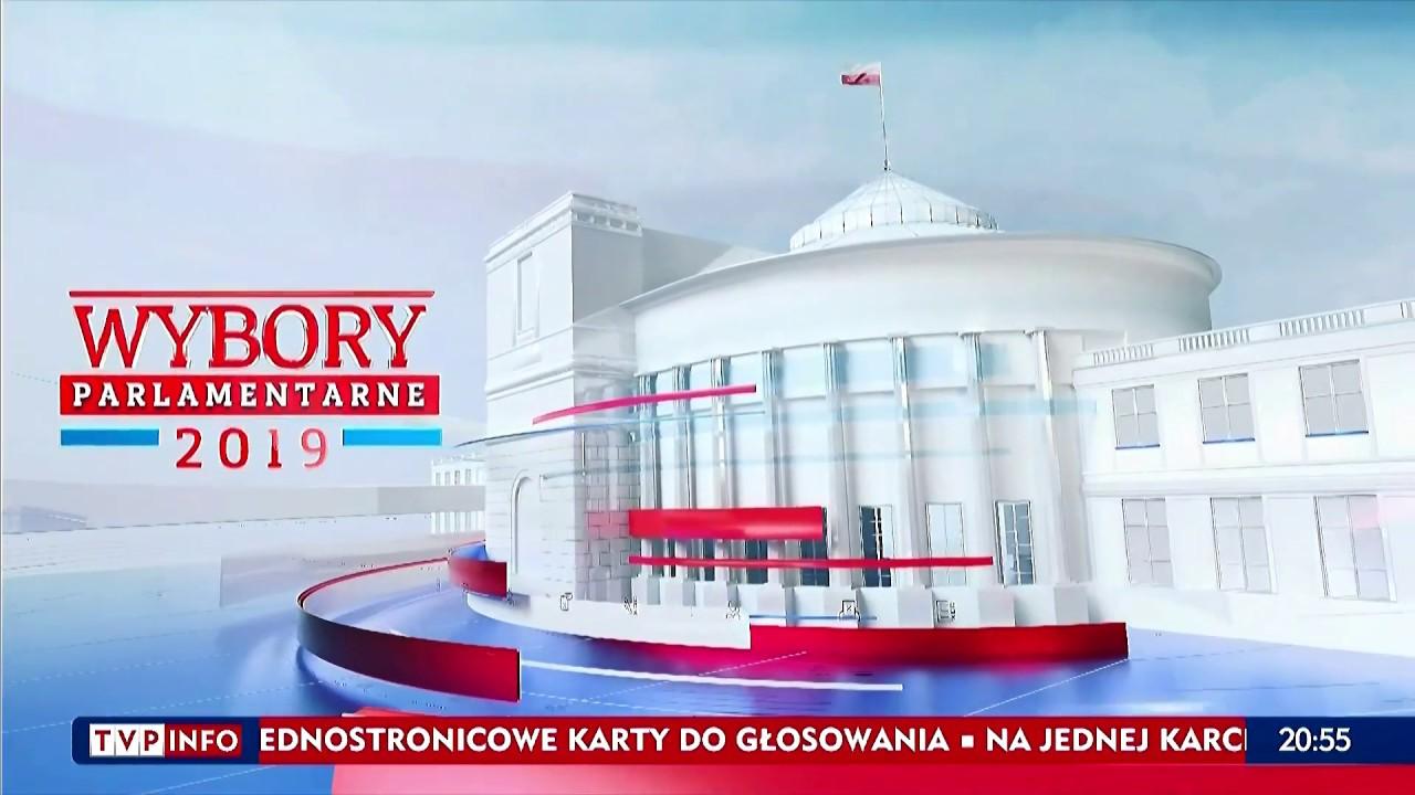 TV Info - Czołówka Wieczoru Wyborczego z 2019 (wybory do Sejmu i Senatu RP)