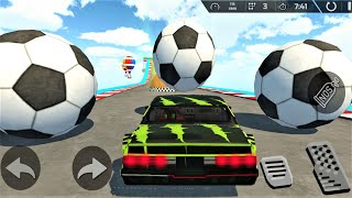 MEGA RAMPS ! Autorennen auf MEGA XXL Rampen ! Android Spiele - Gameplay screenshot 4
