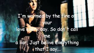 Katie Melua - Nine million bicycles (lyric)