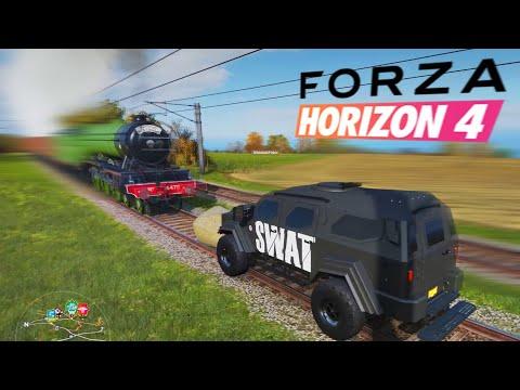 FORZA HORIZON 4 BEST MOMENTS, RAGE, STUNTS & FAILS #2