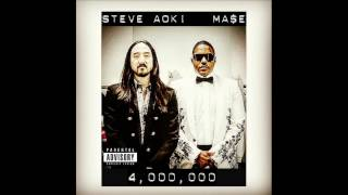 Mase & Steve Aoki - 4,000,000 (Official Audio)