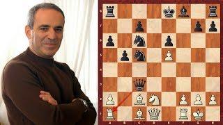 Amazing Game : Garry Kasparov vs Vishy Anand - PCA WCh (1995) - Game 10 - Brilliancy!