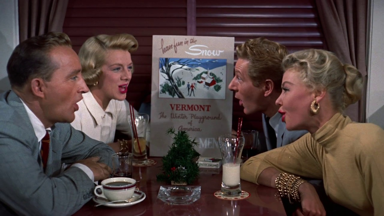 snow from irving berlins white christmas 1954 film youtube - The Movie White Christmas