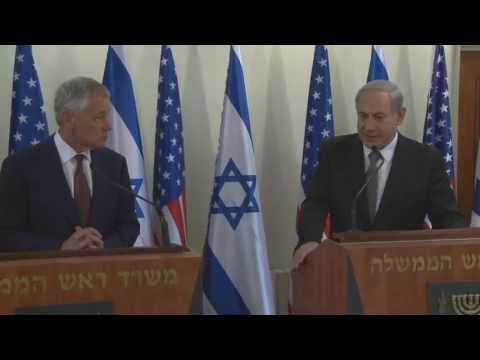 """Stronger than Ever"" -- U.S. Secretary of Defense Chuck Hagel's Visit to Israel"