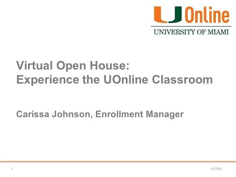 Experience the UOnline Classroom - Master's in Sport Administration