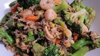Seafood Fried Rice | Chinese Take Out How To Recipe