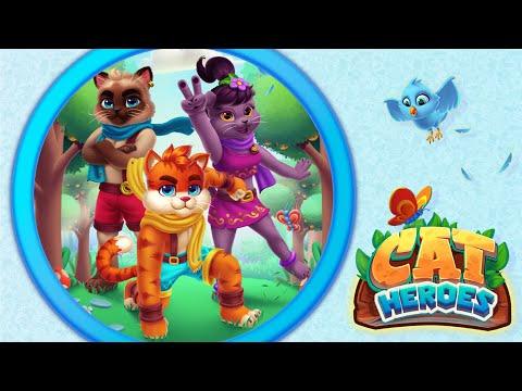 Cat Heroes - Store Video