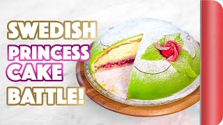 SWEDISH PRINCESS CAKE BATTLE!!