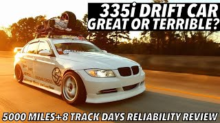 335i BMW Drift Car Attempts 5000 Miles And 8 Track Days Review - DRIFT WEEK