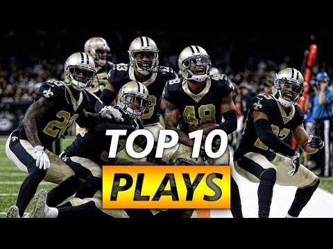 Saints Top Ten Plays 2017-2018